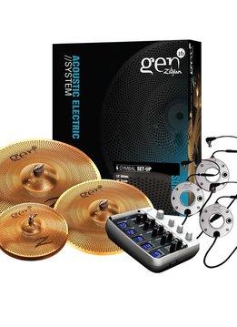 Zildjian Zildjian Gen16 Buffed Bronze 13/16/18 DS Cymbal Set