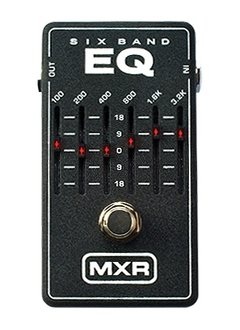 MXR MXR M109S 6-Band Graphic EQ Pedal