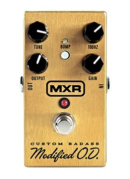 MXR MXR M77 Custom Badass Modified Overdrive Pedal