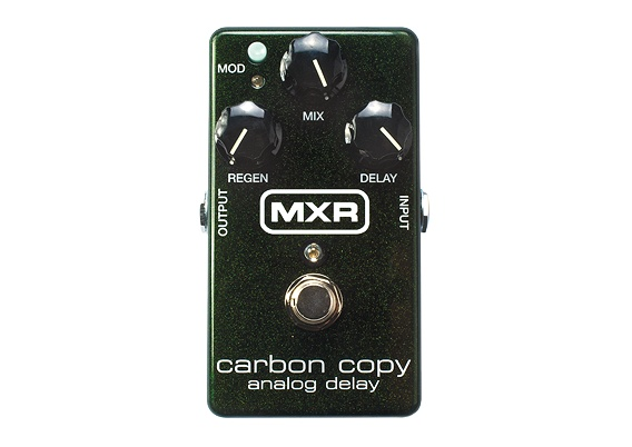 MXR MXR M169 Carbon Copy Analog Delay Pedal