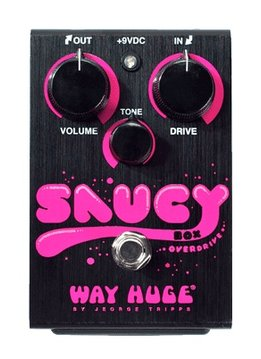Way Huge Way Huge Saucy Box Overdrive Pedal