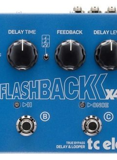 TC Electronics TC Flashback X4 Delay 26 Looper