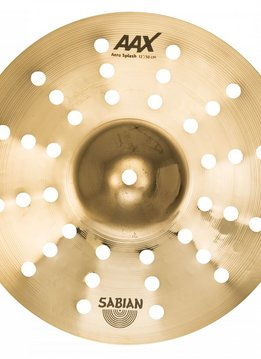"Sabian Sabian 12"" AAX Aero Splash, Brilliant"
