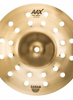 "Sabian Sabian 10"" AAX Aero Splash  Brilliant"