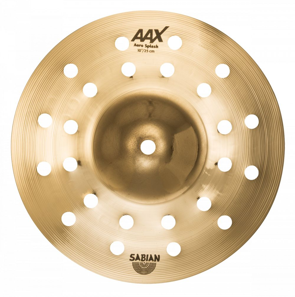 "Sabian Sabian 10"" AAX Aero Splash, Brilliant"
