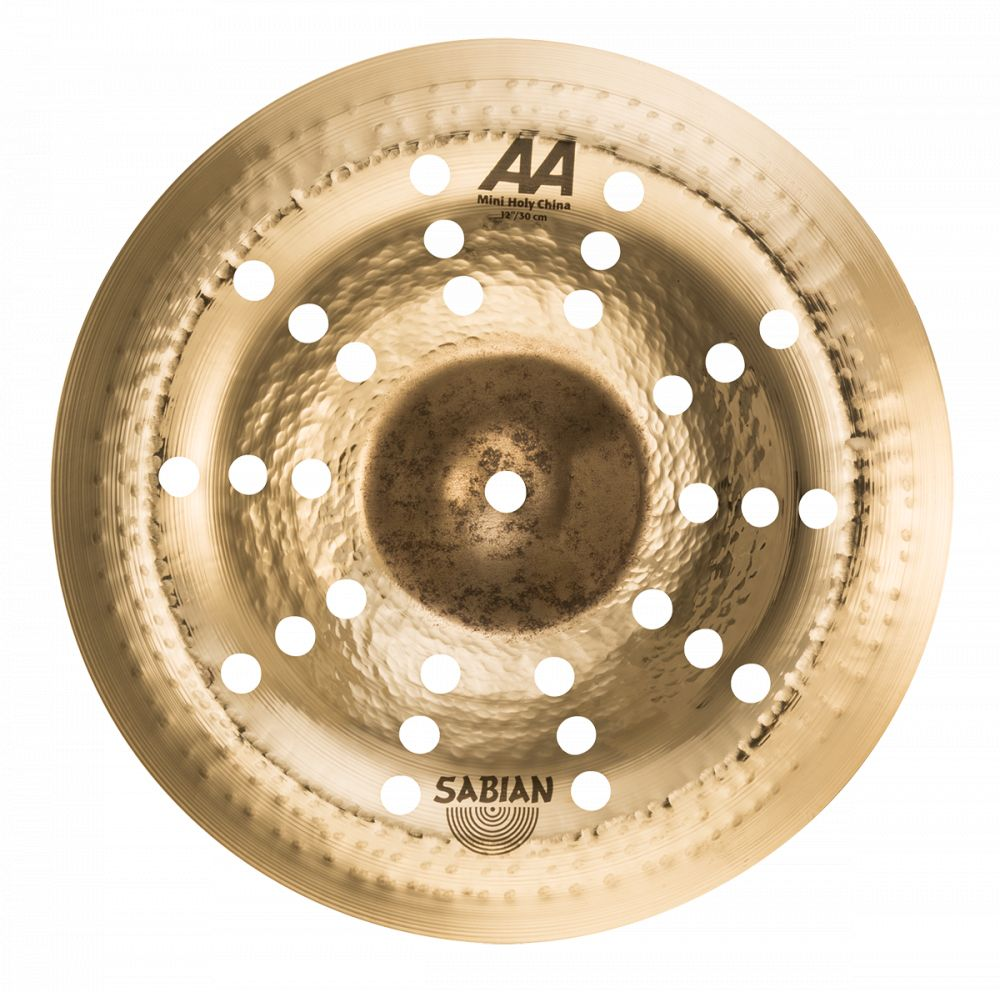 "Sabian Sabian 12"" AA Mini Holy China - Brilliant"