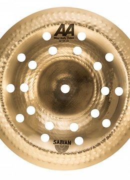 "Sabian Sabian 10"" AA Mini Holy China - Brilliant"