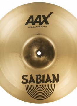 "Sabian Sabian 16"" AAX X-Plosion Crash, Brilliant"
