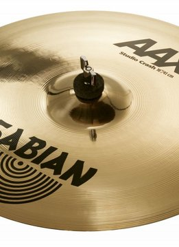 "Sabian Sabian 16"" AAX Studio Crash, Brilliant"