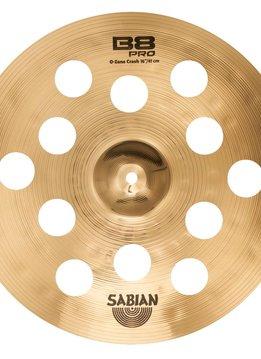 """Sabian Sabian 16"""" B8 Pro O-Zone, Brilliant"""