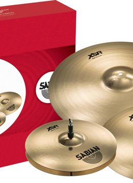 "Sabian Sabian XSR Performance Set with Free 18"" Crash"