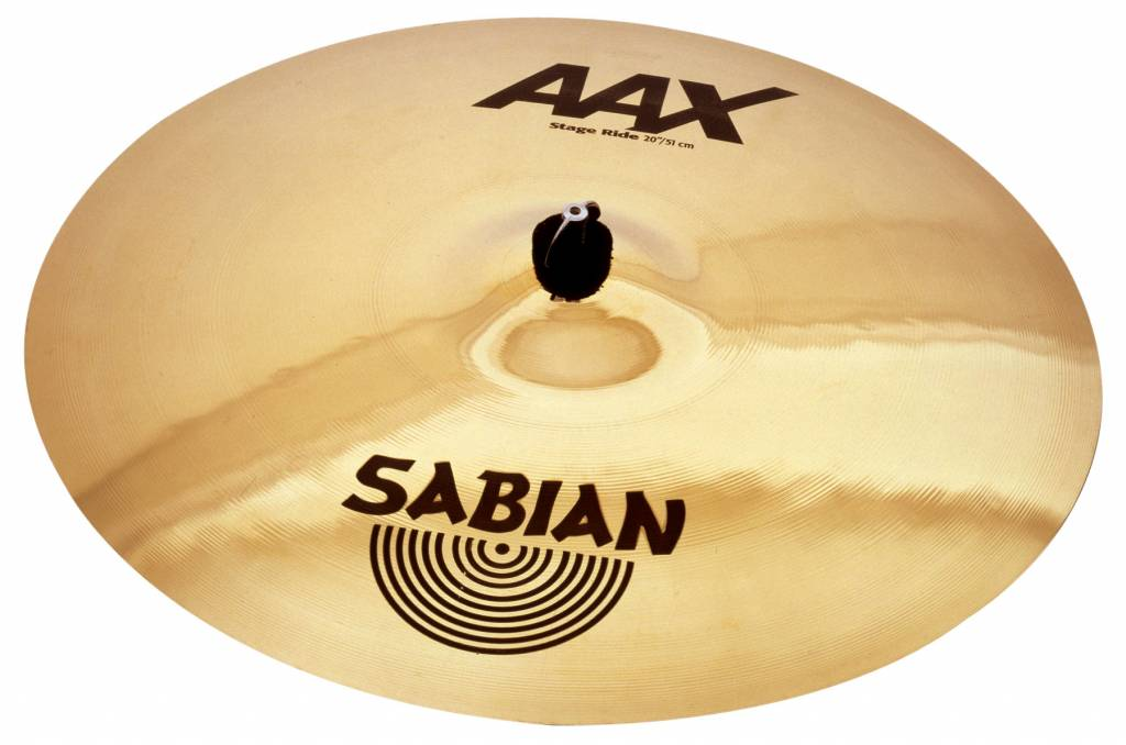 "Sabian Sabian 21"" AAX Stage Ride - Brilliant"