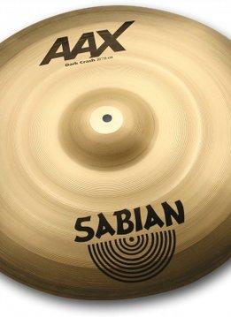 """Sabian Sabian 16"""" AAX Dark Crash"""