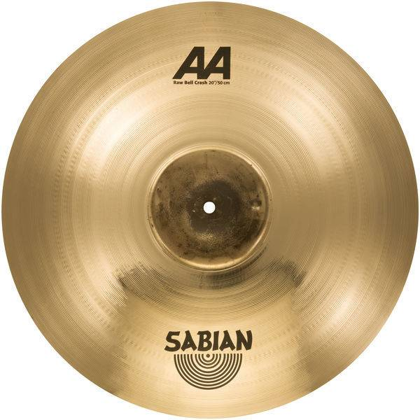 """Sabian Sabian 16"""" AA Raw Bell Crash, Brilliant"""