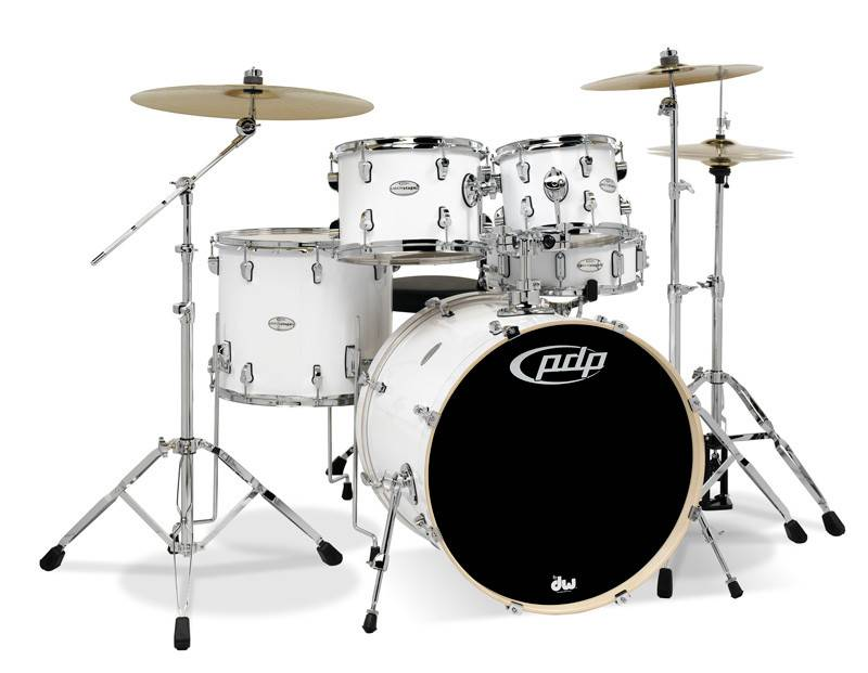 PDP PDP Mainstage - 5-piece w/ Cymbals - White