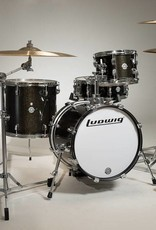 Ludwig Ludwig Breakbeats by Questlove Shell Pack - Black Sparkle