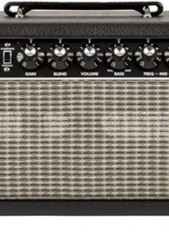 Fender Fender Bassman® 500 Bass Head, Black/Silver