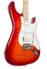 Fender Fender Standard Stratocaster® HSS Plus Top, Maple Fingerboard, Aged Cherry Burst