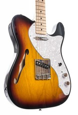 Fender Fender Classic Series 69 Tele Thinline, Maple Fingerboard, 3 Tone Sunburst