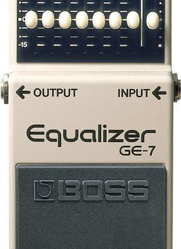 Boss Boss GE-7 7-Band Graphic Equalizer