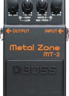 Boss BOSS MT-2 Metal Zone Distortion Pedal