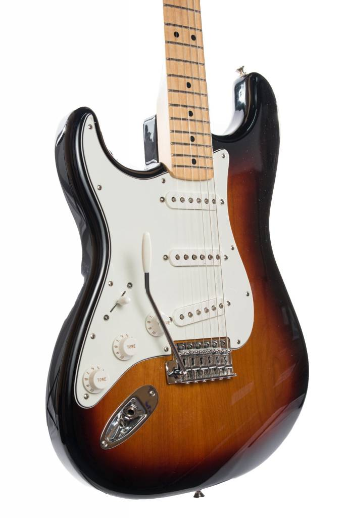 Fender Fender Standard Stratocaster® Left-Handed, Maple Fingerboard, Brown Sunburst