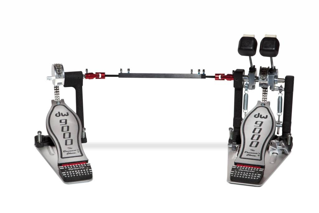 DW DW 9000 Series Double Bass Drum Pedal