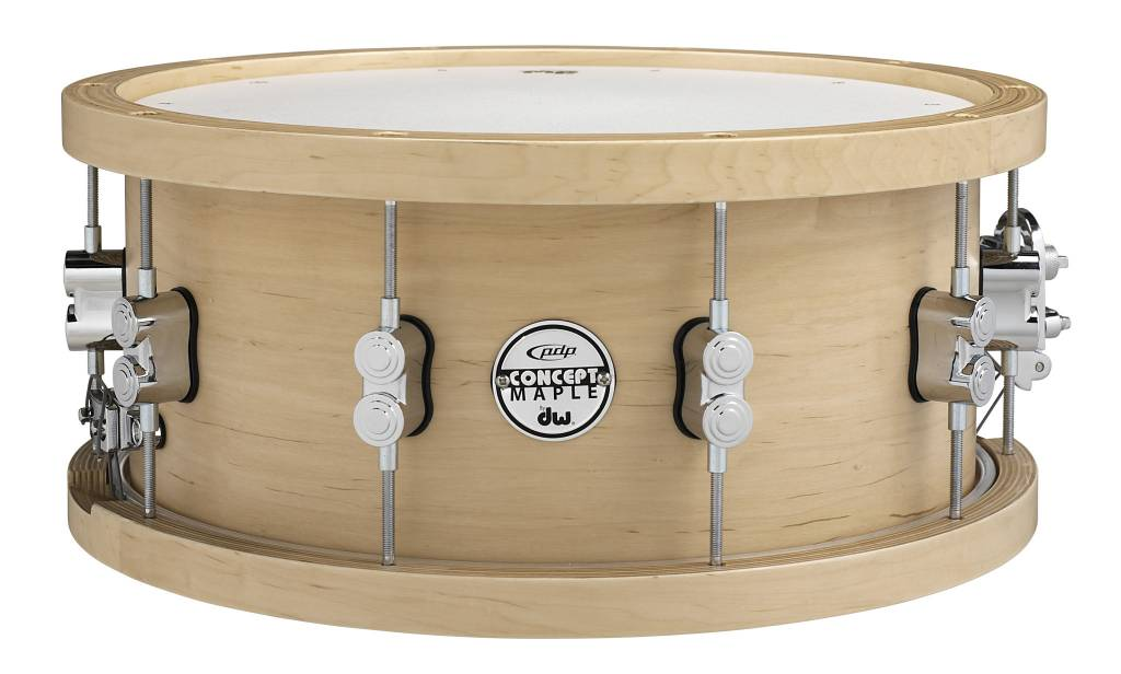 """PDP PDP Concept Series Wood Hoop Maple Snare - 5.5""""x14"""""""