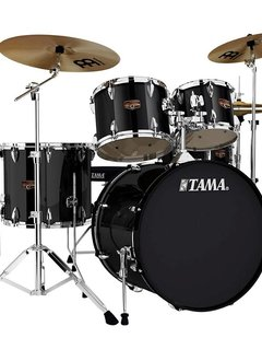 Tama Tama+Imperial+Star+5pc+with+Hardware+and+Cymbals%2c+Black