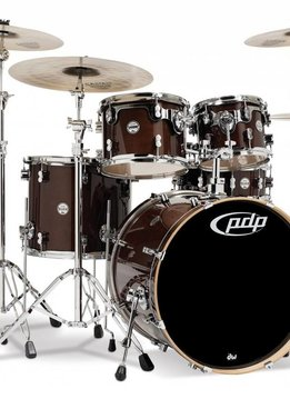 PDP PDP Concept Maple 5pc Shell Pack,  Transparent Walnut