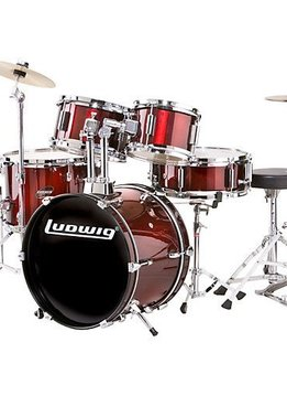 Ludwig Ludwig Junior Drumset - Wine Red