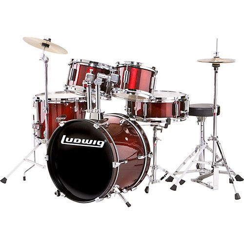 Ludwig Ludwig Junior Drumset - Wine Red