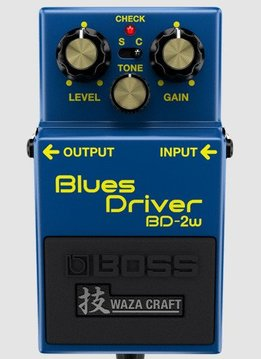 Boss BOSS BD-2W Waza Craft Blues Driver Pedal