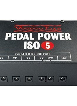 VooDoo Lab Voodoo Lab Pedal Power ISO-5