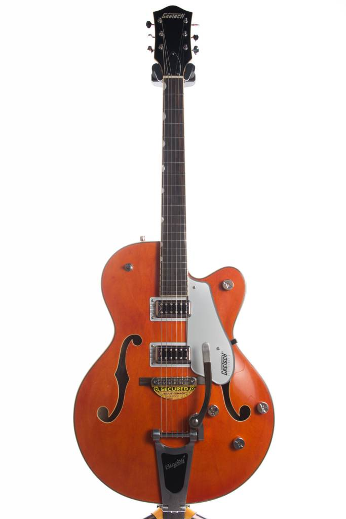 Gretsch Gretsch G5420T Electromatic® Hollow Body Single-Cut with Bigsby®, Orange Stain