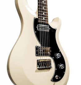 PRS PRS S2 Vela - Antique White, Dots Inlay