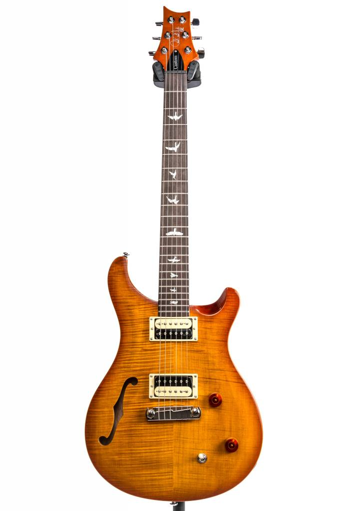 PRS PRS SE Custom 22 Semi-Hollow, Vintage Sunburst