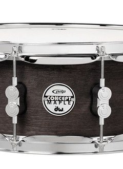 "PDP PDP 6.5"" x 14"" Maple Shell Snare w/ Black Wax Finish"