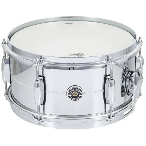 """Gretsch Gretsch Brooklyn Steel Snare Drum -  6""""x12"""""""