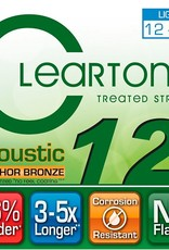 CLEARTONE Cleartone Phosphor Bronze Acoustic Strings  .012-.053 Light