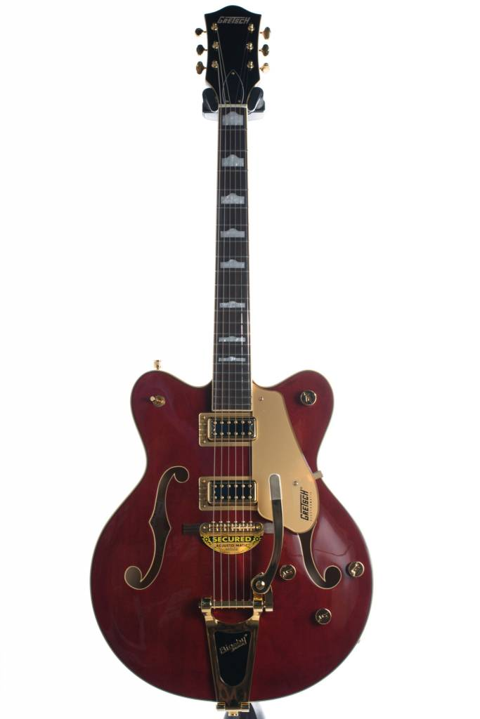Gretsch Gretsch G5422TG Electromatic® Hollow Body Double-Cut with Bigsby® and Gold Hardware, Walnut Stain