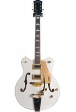 Gretsch Gretsch G5422TG Electromatic® Hollow Body Double-Cut With Bigsby® And Gold Hardware, Snowcrest White
