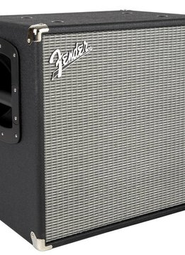 Fender Fender RumbleTM 112 Bass Speaker Cabinet, Black/Silver