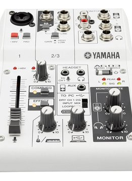 Yamaha Yamaha AG03 3-Channel Mixer/USB Interface