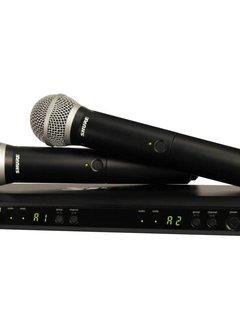 Shure Shure BLX PG58 Dual Vocal System (H10)