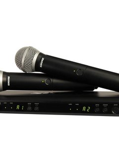 Shure Shure BLX PG58 Dual Vocal System