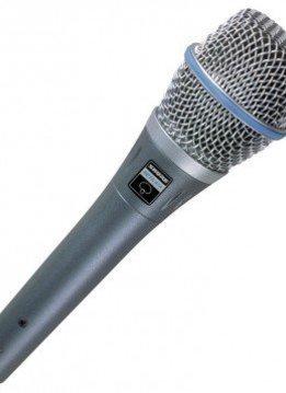 Shure Shure BETA87A Handheld Condenser Microphone - Super-Cardioid