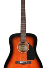 Fender Fender CD-60 Acoustic, Sunburst With Case