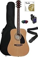 Fender Fender FA-100 Acoustic Pack - Natural