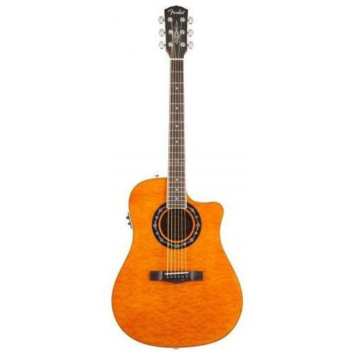 Fender Fender T-Bucket 300CE Amber Quilt